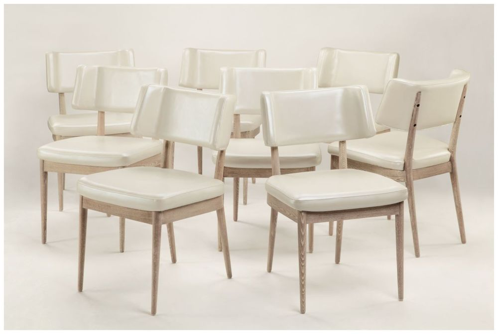 Custom Modern Curved Back Restaurant Chairs