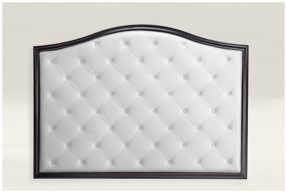Custom White Upholstery Hotel Headboard with Wood Frame