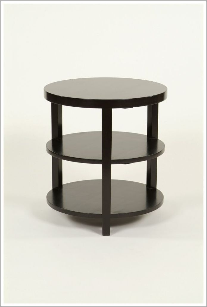 Custom Solid Wood Hotel Side Table