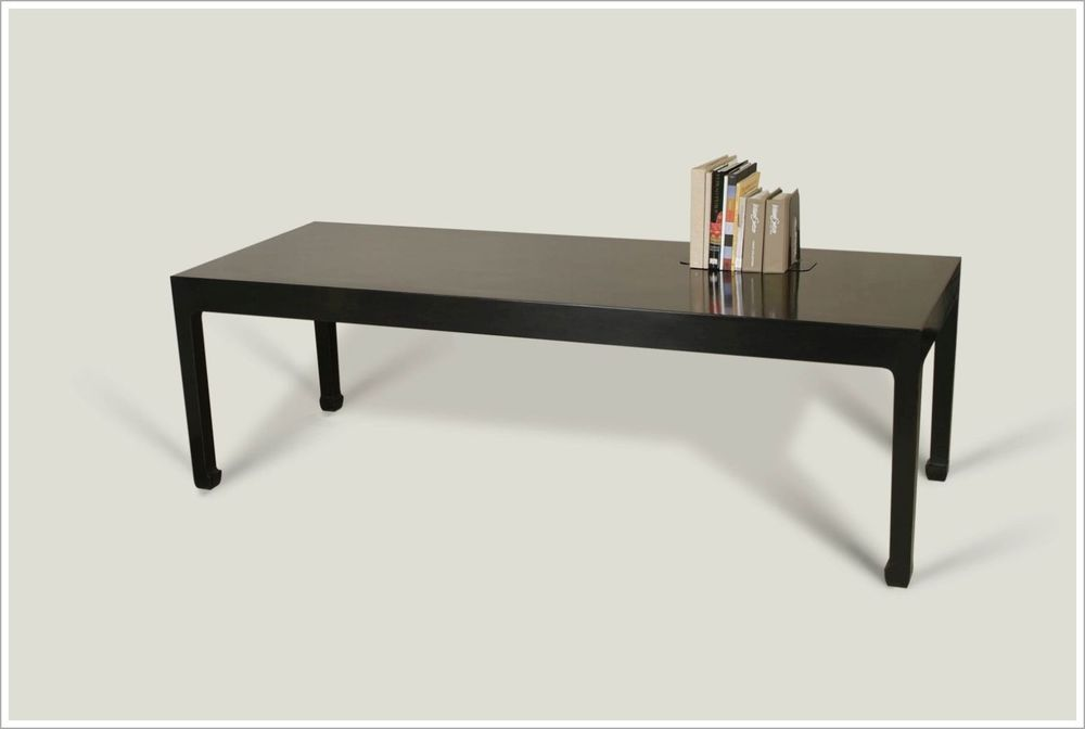 Ming Style Black Custom Conference Table