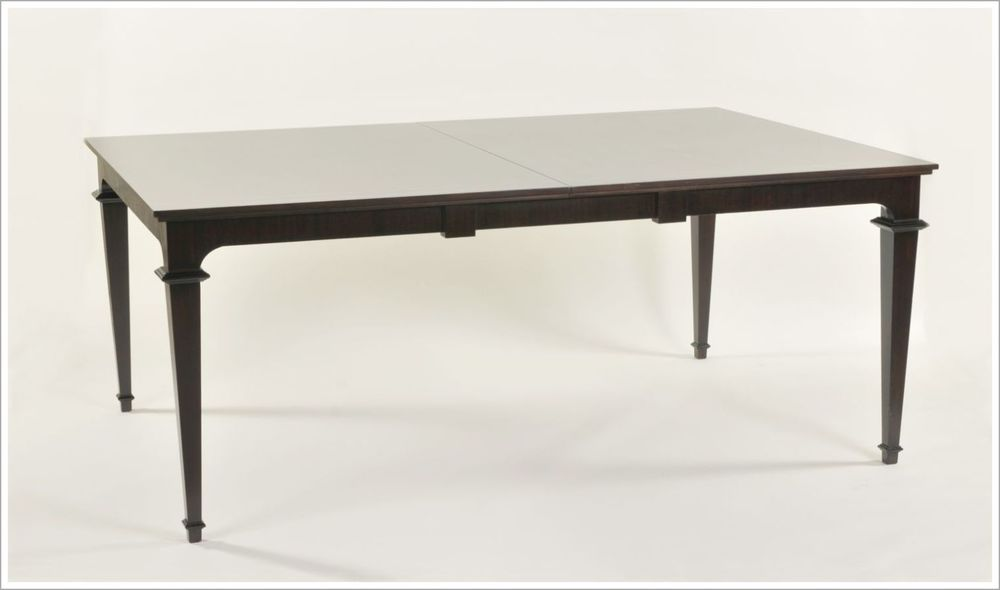 Custom Dining Table with Tapered Legs