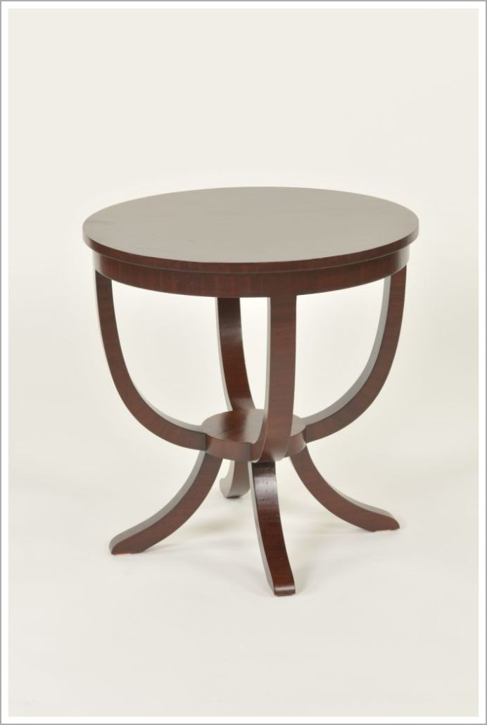 Custom Contoured Hospitality Side Table