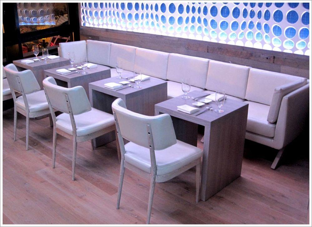 Custom Contemporary Restaurant Seating