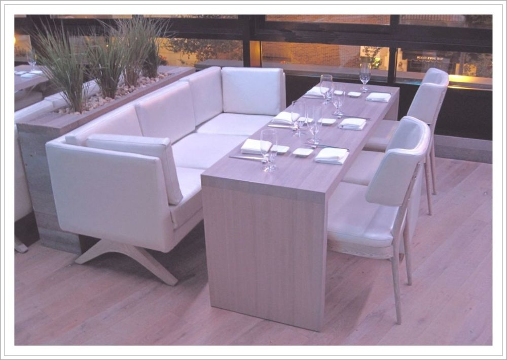 Custom Upholstered Restaurant Seating