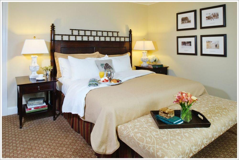 Custom Hotel Room Headboard and Nightstands