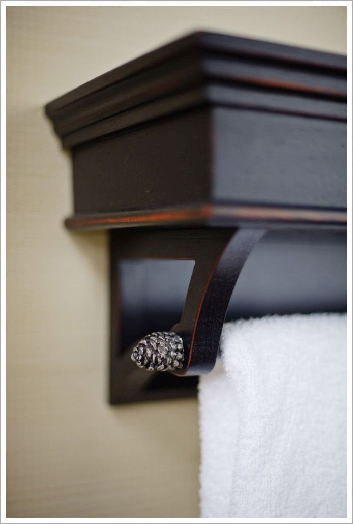 Custom Hotel Towel Rack