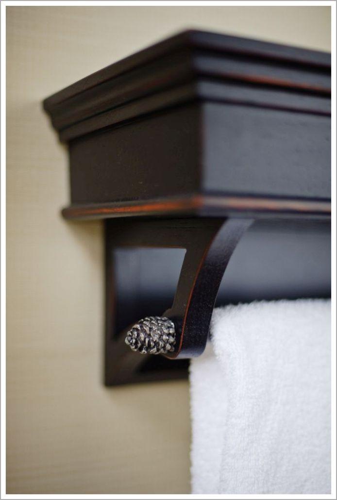 Custom Hotel Towel Rack