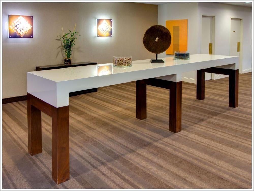 Parsons Style, Custom Hotel Lobby Table