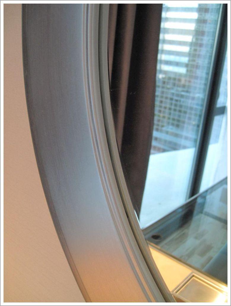Custom Silver Leaf Hotel Mirror