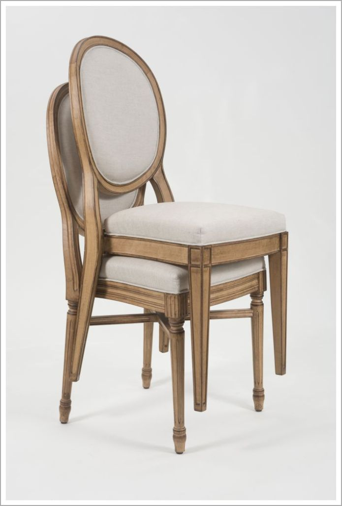 Custom Traditional Design Hospitality Stacking Chairs