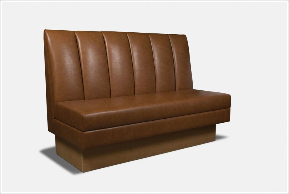 Custom Upholstered Booth Seating