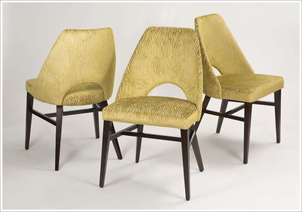 Custom Upholstered Hospitality Chairs
