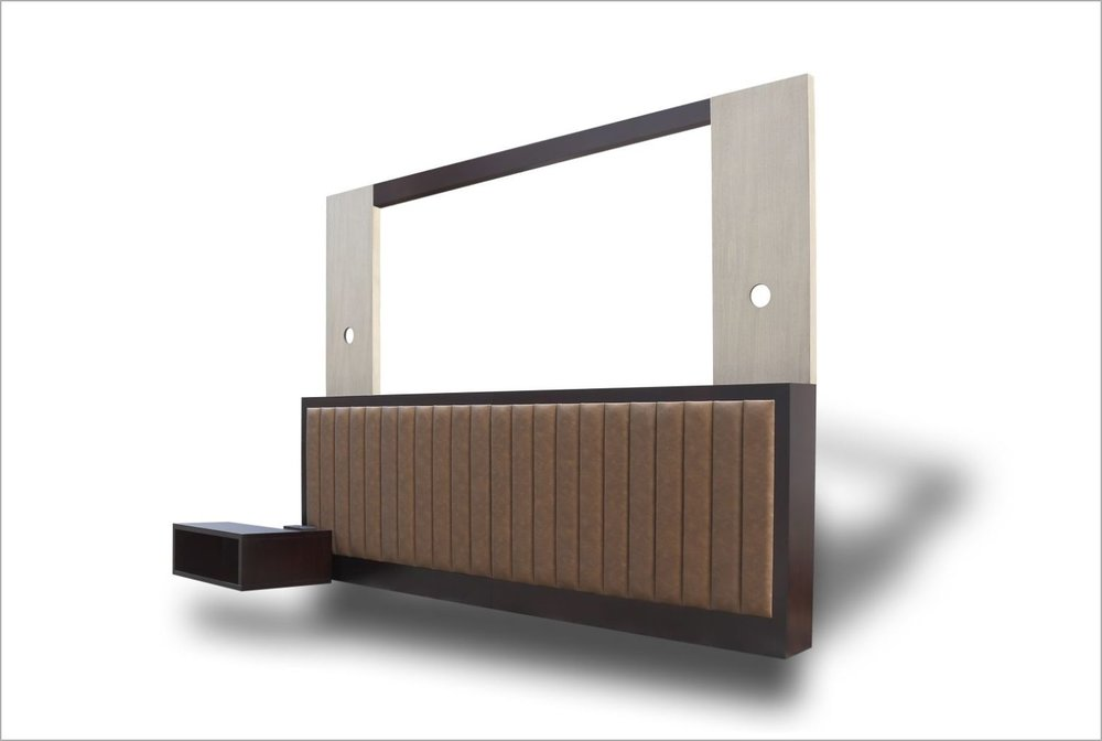 Modular Hotel Headboard with Nightstand