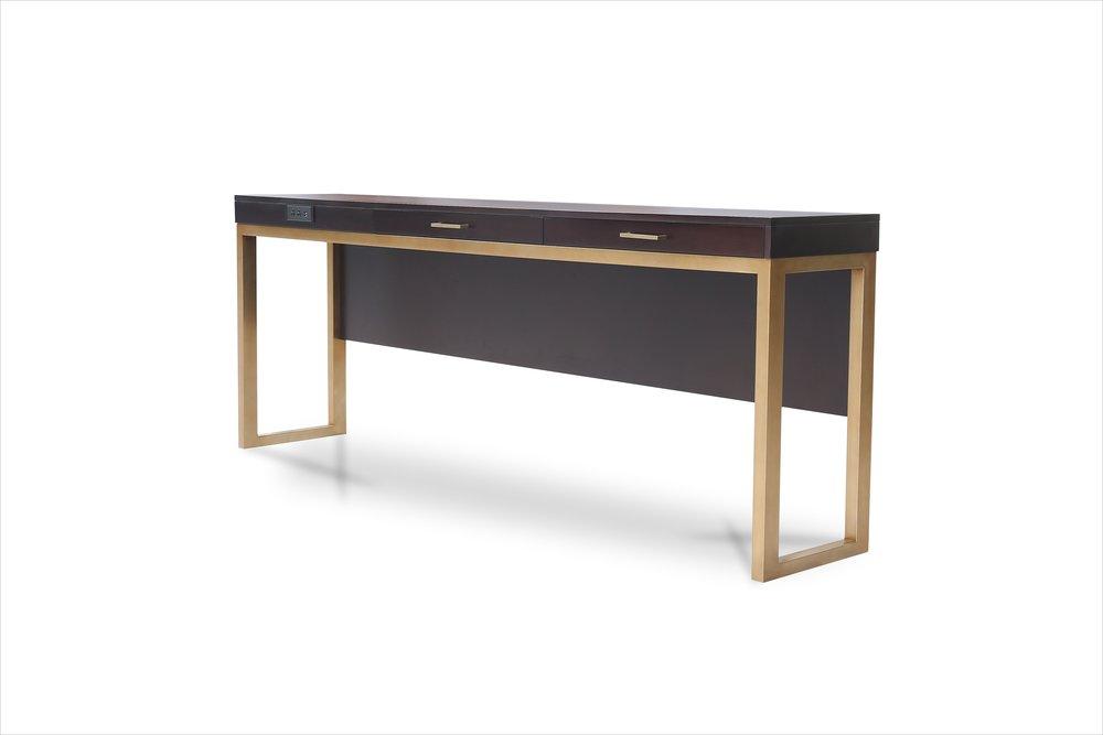 Custom Hotel Console Table