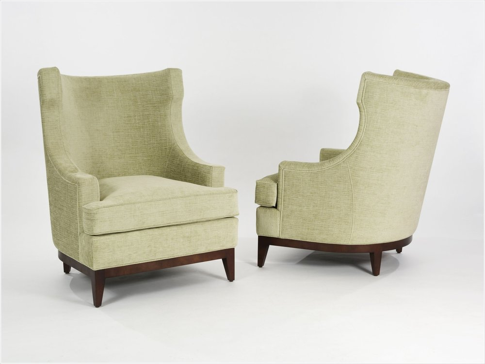 Custom Upholstered Lounge Chair