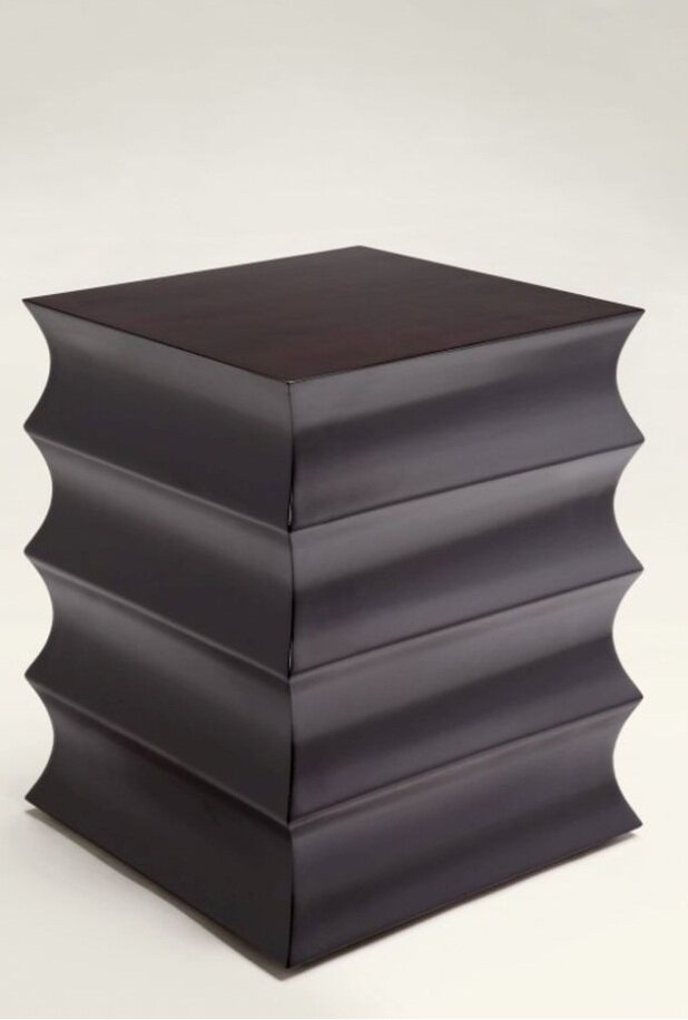Scalloped Hospitality Side Table