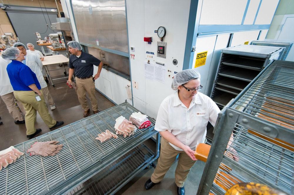 Muchas compañías de ingredientes utilizarán el laboratorio para realizar pruebas de alto nivel.