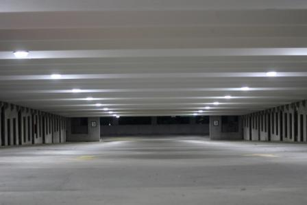 Georgia Gwinnett College has taken its next major stride toward energy sustainability by upgrading HID parking lot lights to energy efficient LED lighting.  (cLICK IMAGE FOR CASE STUDY)