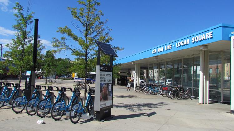 Logan Square Public Transportation