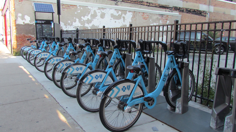 East Village Divvy Bike Station