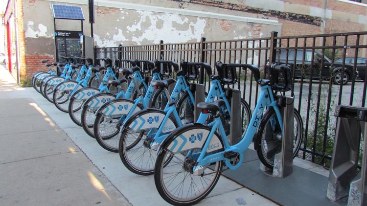 East Village Divvy Bike Station