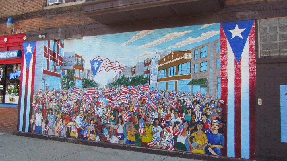 Humboldt Park Puerto Rican Mural