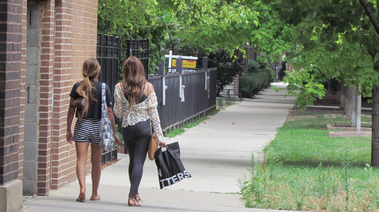 Neighborhood Shoppers in West Bucktown