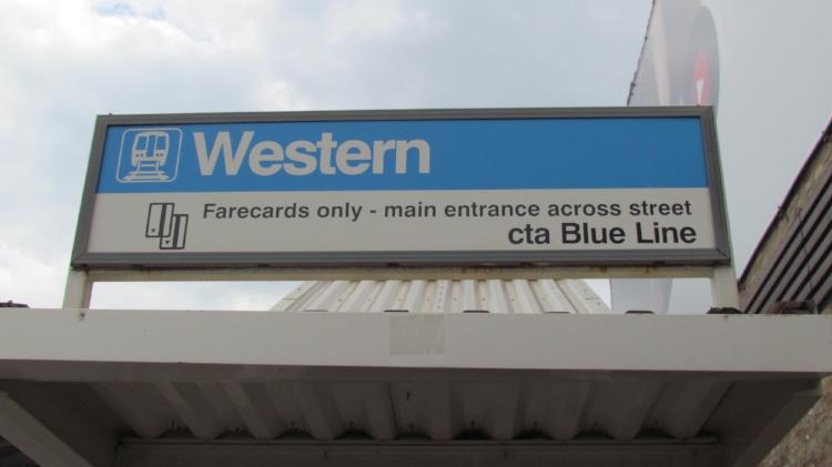 Western Blue Line West Bucktown