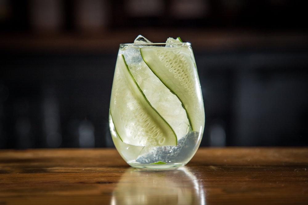 Yokocho's cucumber cocktail on division street