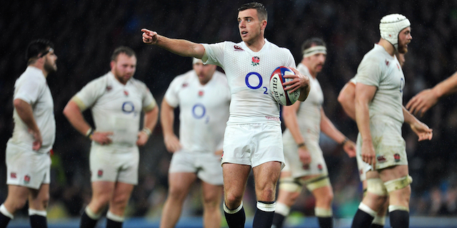 England fly-half George Ford taking command on the pitch