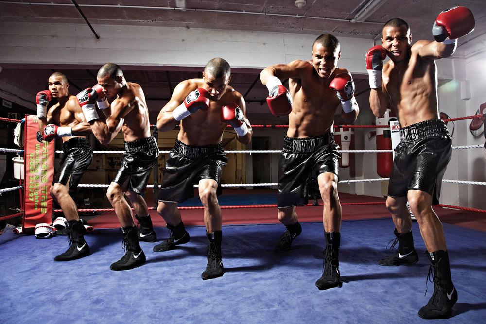"""Chris """"Next Gen"""" Eubank Jr shot by Ben Knight for Men's Fitness"""