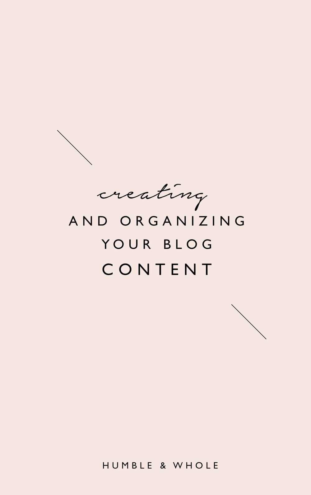 Ready to start blogging but unsure of how to develop the categories you need? Click through to discover the best ways to decide on categories for your blog and brainstorm content ideas!