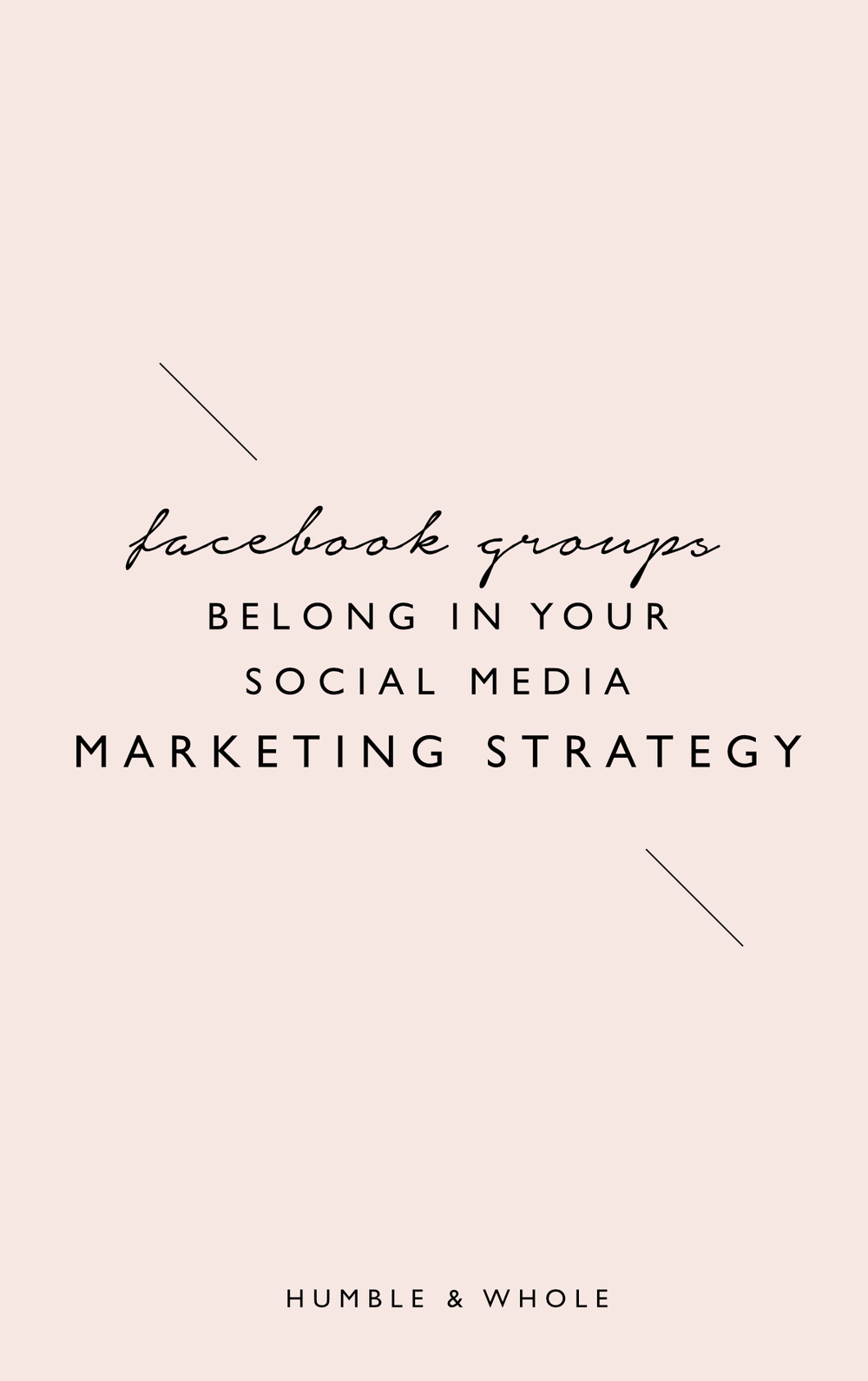 Benefits of Facebook Groups