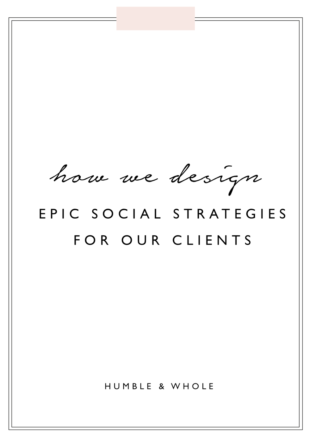 We're taking you behind the scenes to show you what goes into the social media strategies we create for our clients.  Each social media strategy we design is unique because it depends on several factors related to our clients and their businesses.  However, we've managed to streamline our process to result in an epic social media strategy for each client and we're excited to share a few details!