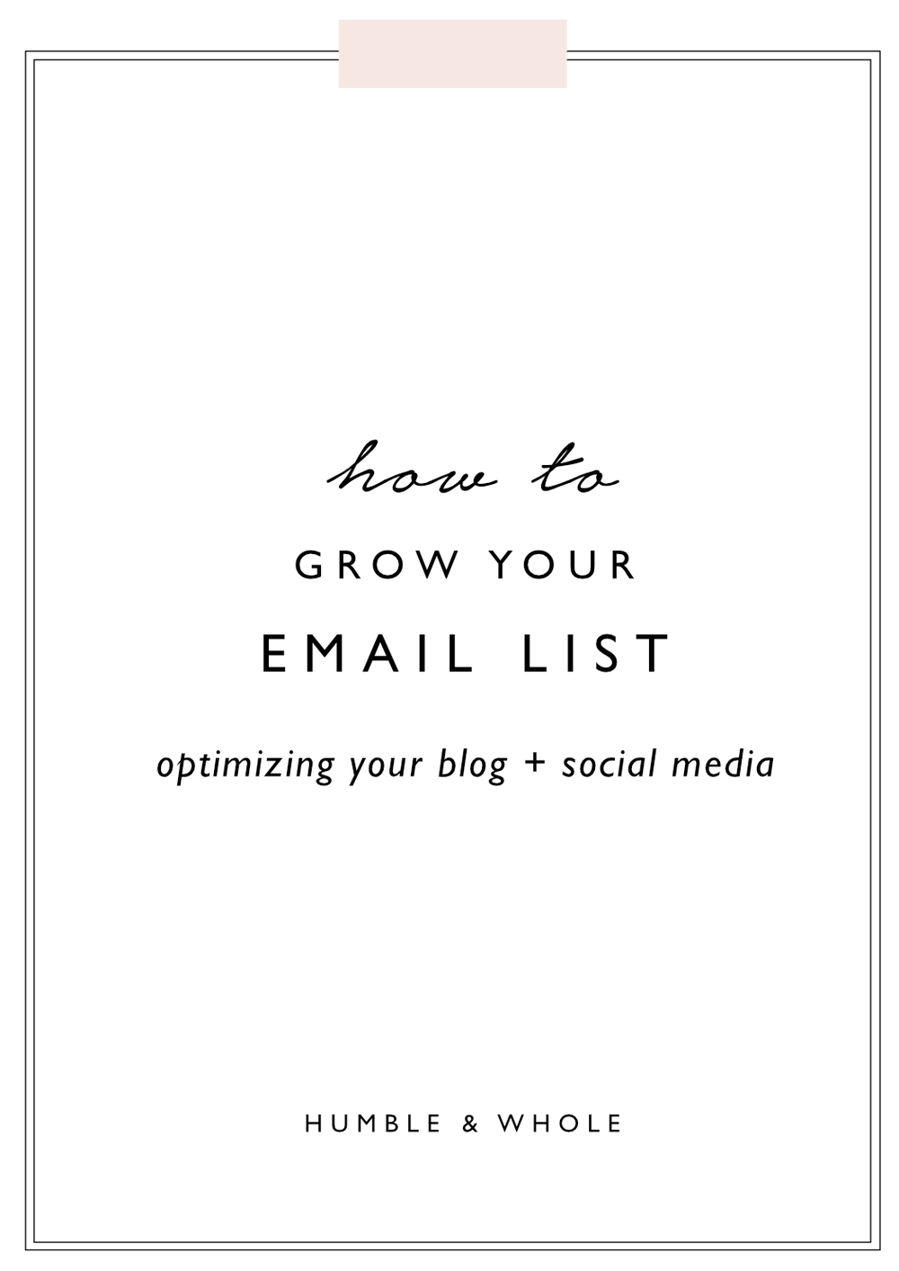 Many entrepreneurs focus on building a blog or social media presence before building a mailing list. Even though a mailing list has the potential to be far more profitable than social media, email marketing tends to be pushed to the back burner or ignored. In this post, we're revealing our favorite tried and true list building methods that are based on optimizing your blog and social media profiles.