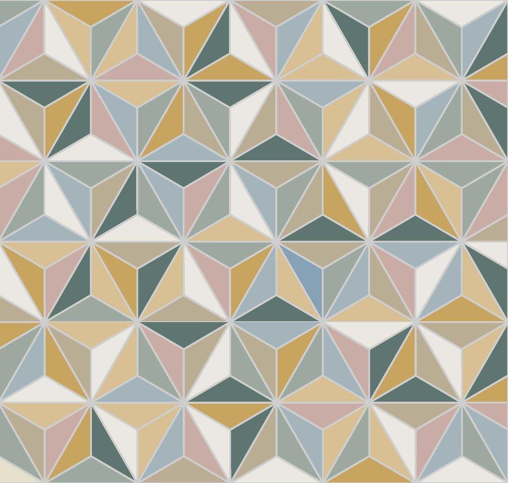 Triangles - Multicolor
