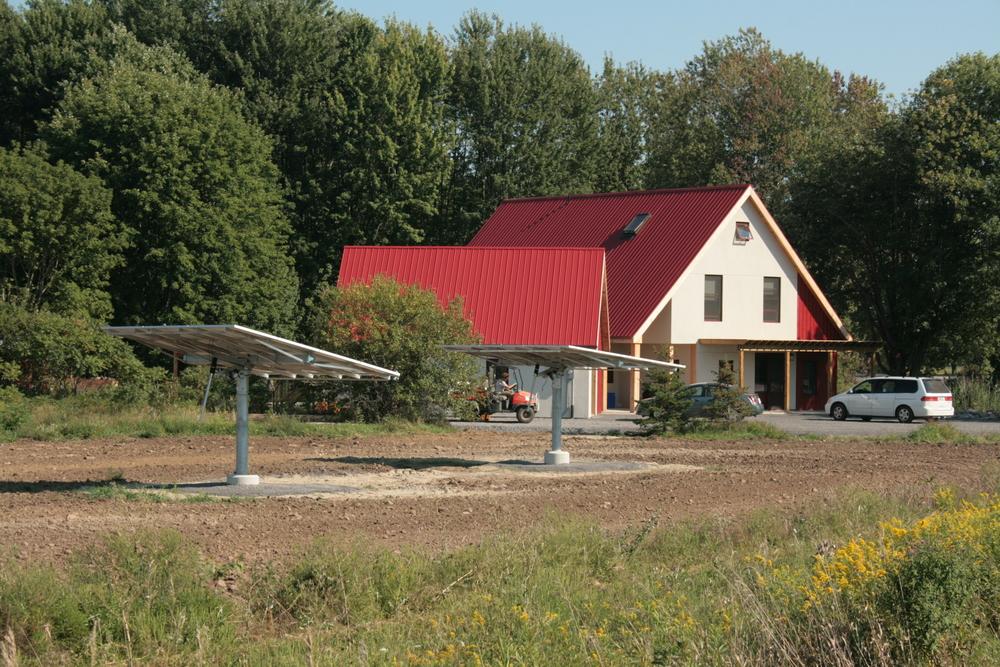 New home - Country Farm House with solar energy.jpg