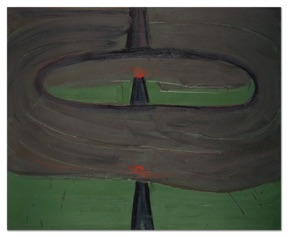 Robert Bordo DWI, 2012, oil on canvas 45X55 inches Image courtesy of the artist