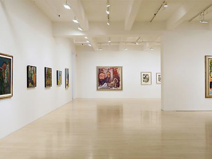 Robert De Niro, Sr. Paintings and Drawings 1960-1993 at DC Moore Gallery, New York. March-April, 2012