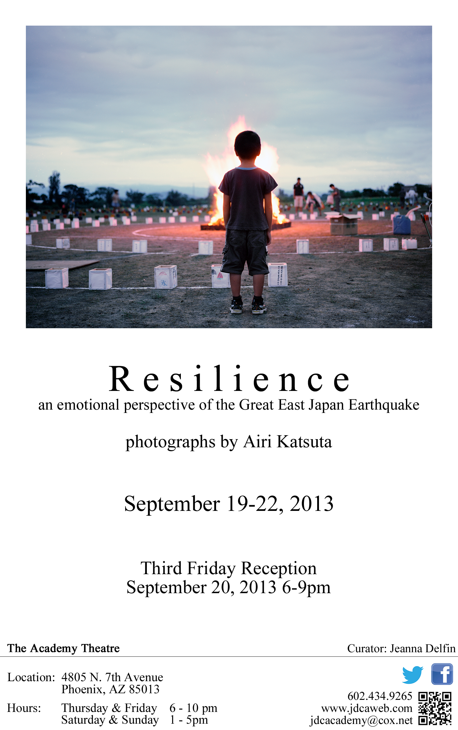 Resilience showing at the Academy Theatre