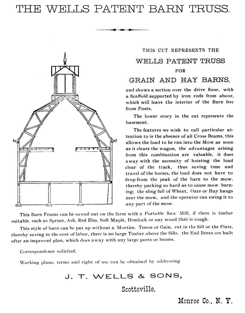 Wells Barn Plans