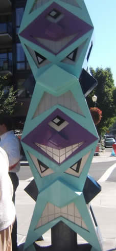 Portland's version of a utility pole.