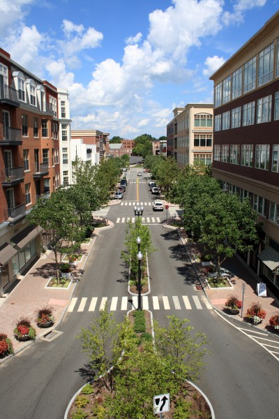 Award-winning shared street in West Hartford, CT Connecticut by the Numbers