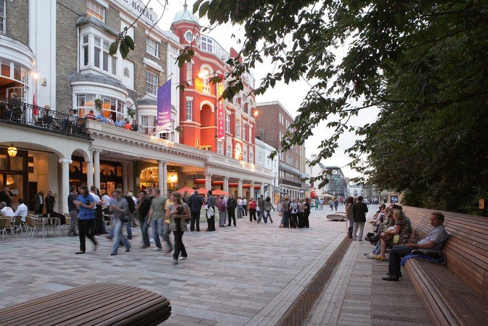 Shared street in Brighton