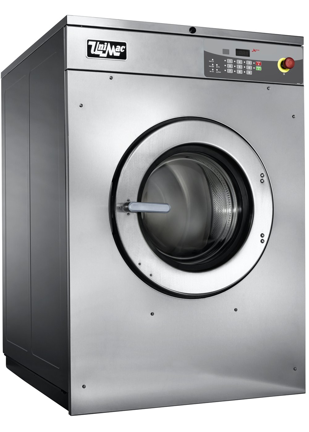 Bunker suits UniMac washer-extractor  Commercial washer for bunker suits  Washer for bunker suits  Robust commercial washer  Bunker suits washer