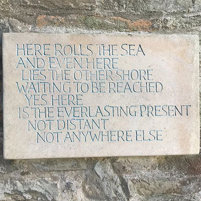 Sounds of the sea... no matter how far from the coast there's always a reminder of the big blue . . . . . #sea #rhythm #poem #present #mindfulness #ocean #calm #explore #wonder #bluemind