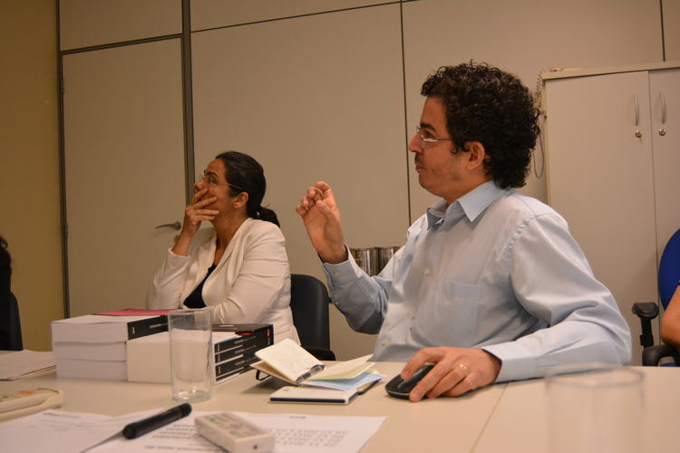 IPEA presents on the complexities of  Brazil's social protection system (Photo Credit: A Sim)