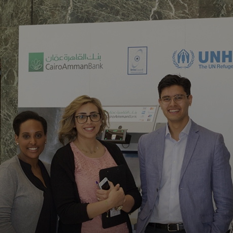 U of T students head to Jordan to study iris-scanning ATM initiative for refugees -