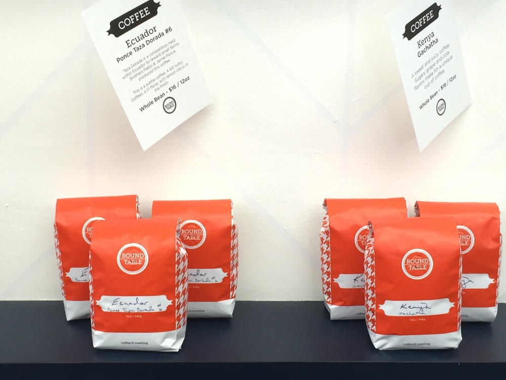 Roundtable Coffee Bags | A Look Into