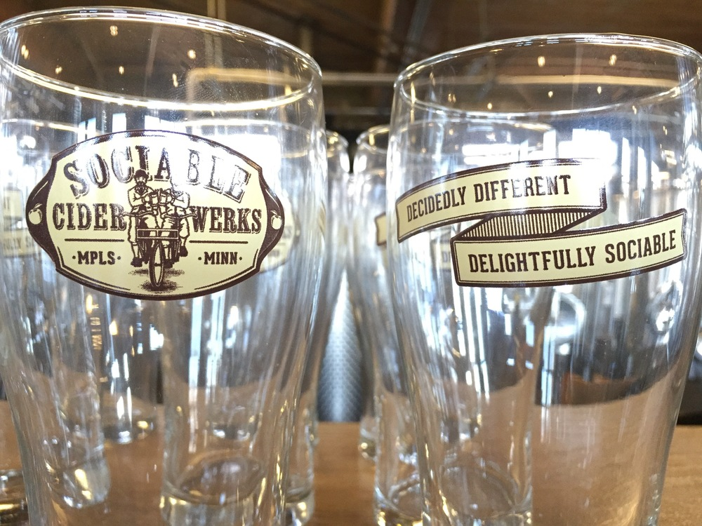 Sociable Cider Glasses | A Look Into